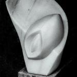 """""""Rotation""""  Sölker Marmor - der härteste Marmor, dem ich mit Meissel und Knüpfel zu Leibe gerückt bin."""
