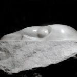 """""""Schlafender"""" Carrara-Marmor"""